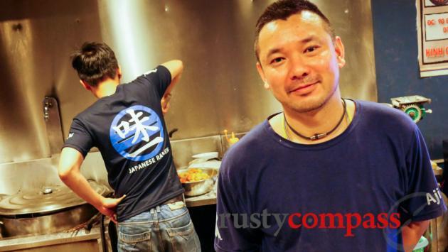 Imano from Ajiichi ramen noodles, Danang