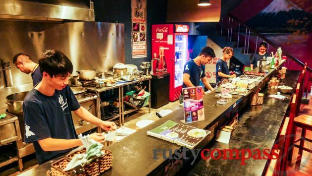 Ajiichi ramen noodles, Danang