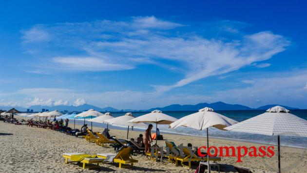 An Bang beach is the place to be in summer - expect crowds
