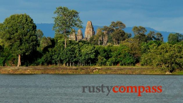 Looking across the royal baths to Pre Rup