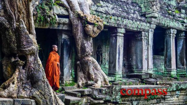 Preah Khan temple - Angkor