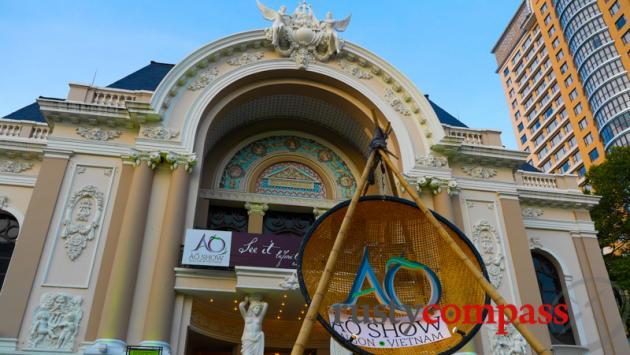 Saigon's historic Opera House.