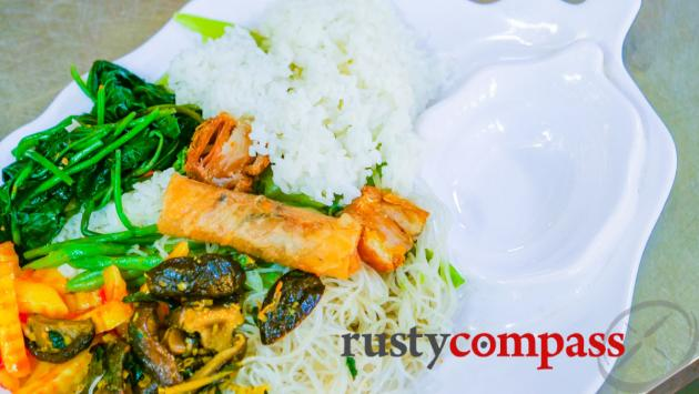Quan Chay Ba Dam, vegetarian restaurant, Hoi An,