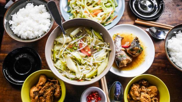 Set lunch - Bang Khuang Cafe, Saigon