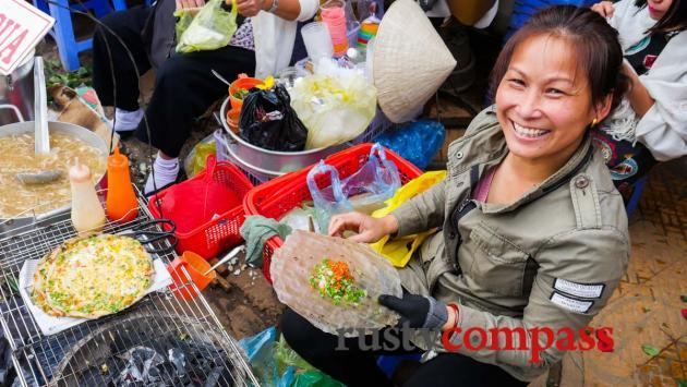 Banh Trang, Dalat Market