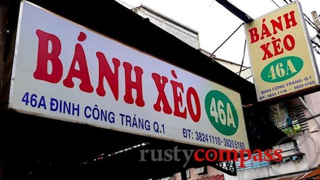 Banh Xeo 46A, Saigon