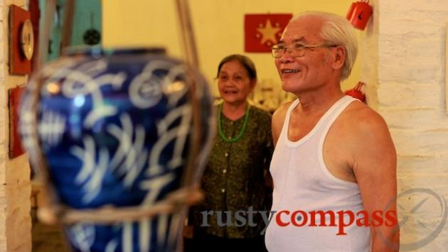 Owners of Delicious Ceramics, Bat Trang.