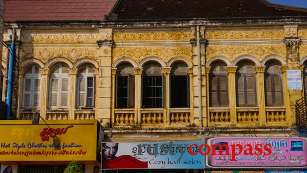 Colonial architecture, Battambang