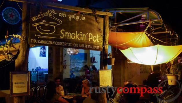 Smokin' Pot Restaurant, Battambang