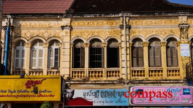 French colonial architecture, Battambang