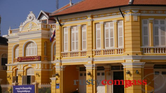 Colonial era bank buildings, Battambang