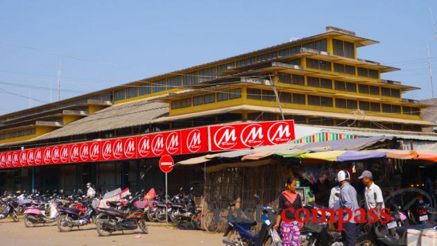 Battambang central market