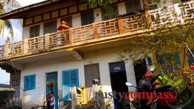Battambang's old French colonial rail yards.