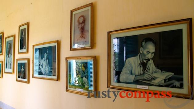 Various views of Uncle Ho at Ben Tre Museum