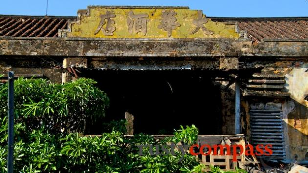 Old Chinese warehouse, Ben Tre riverfront