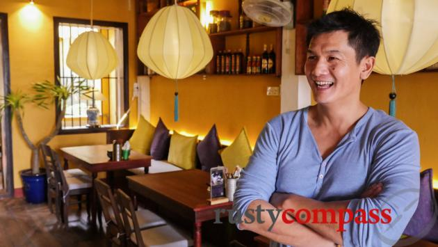 Thanh - the owner of Bep 1919 restaurant, Hoi An