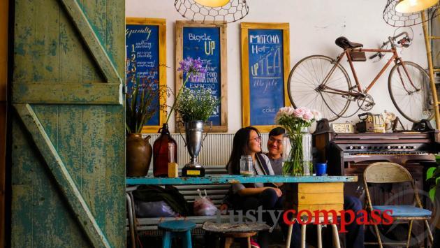 Bicycle Up Coffee, Dalat