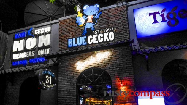 Blue Gecko Sports Bar, Saigon