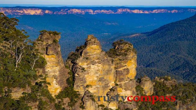 Blue Mountains - they're more beautiful than you expect.