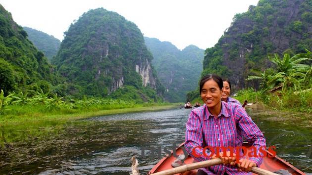 Thung Nang boat trip, near Tam Coc.