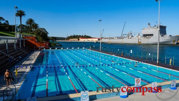 Boy Charlton Pool, Woolloomooloo Bay, Sydney
