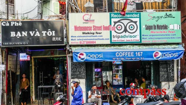 Bui Vien St - Saigon's bacpacker district