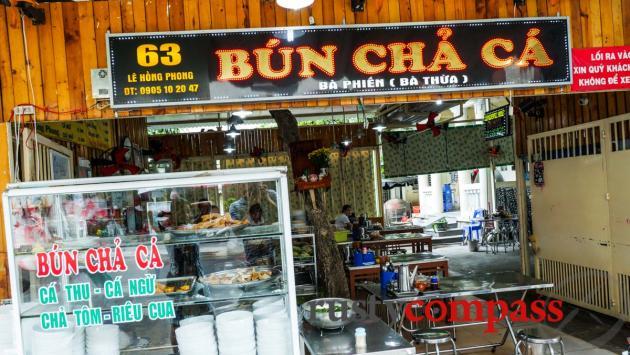 Bun Cha Ca Ba Phien, Danang