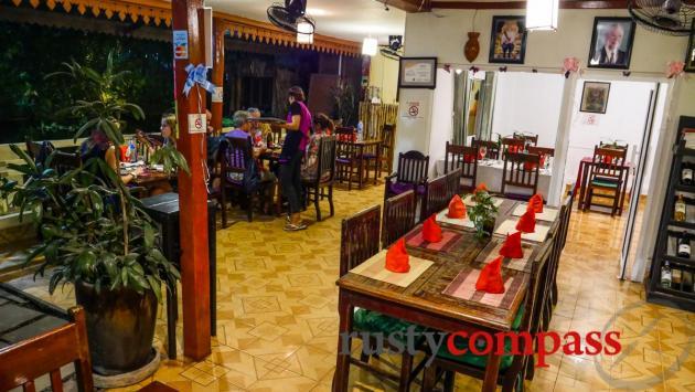 Butterflies Restaurant, Siem Reap