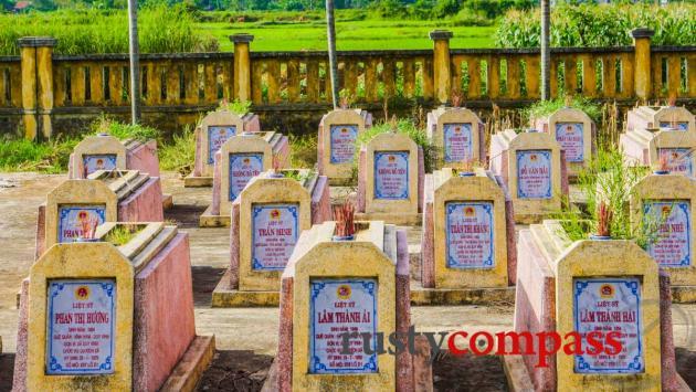 Viet Cong war cemetery, Cam Kim Island, Hoi An