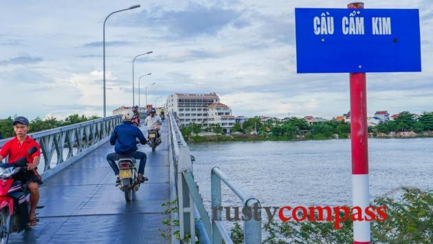 The new bridge (2016) to Cam Kim Island, Hoi An