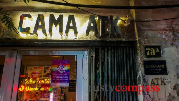CAMA ATK - Bar and live music Hanoi
