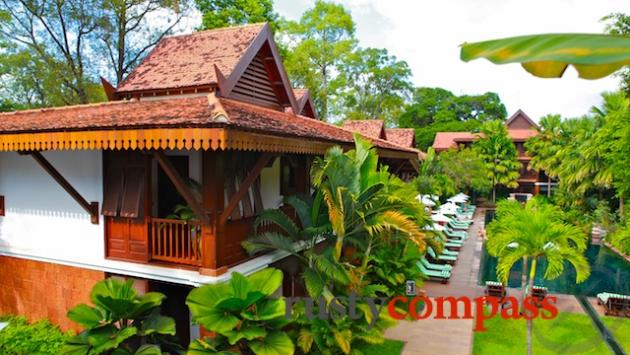 The Balinese styled La Residence d'Angkor is a popular choice for luxury travellers.