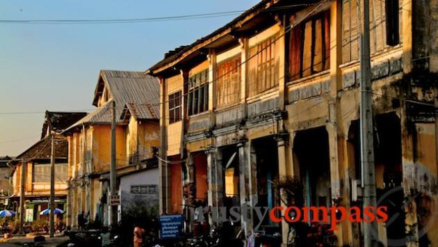 Shophouses Kampot.