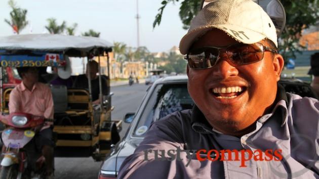 Tuk tuk driver, Phnom Penh