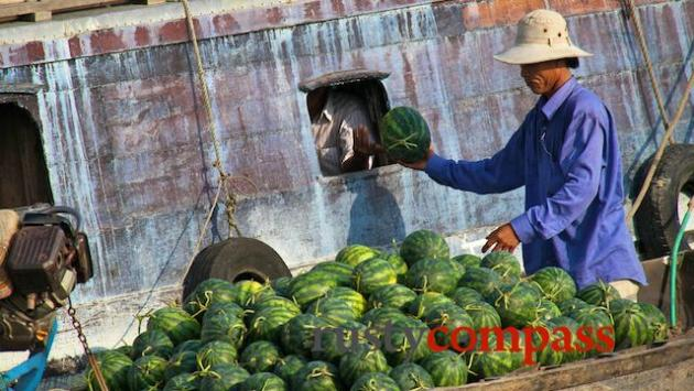 Watermelon sale.