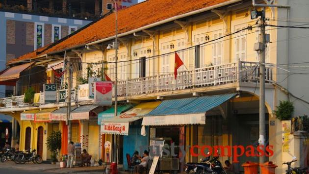 Colonial era shophouses, Can Tho