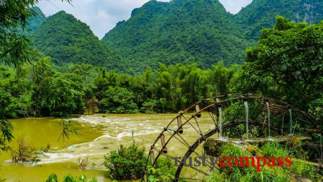 Water-wheel, Cao Bang
