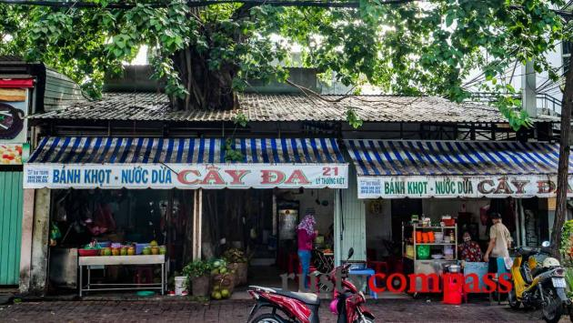 Banh Khot Cay Da Vung Tau