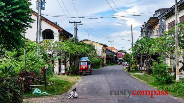 Champasak town, southern Laos