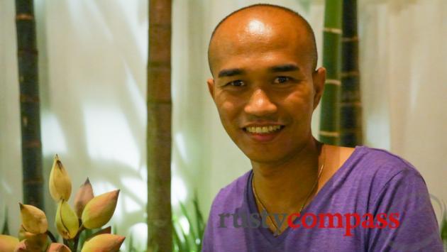 Kann Soan, the man behind Chanrey Tree, Siem Reap