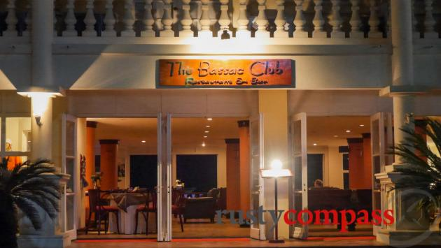 Bassac Club at the Victoria Hotel, Chau Doc.