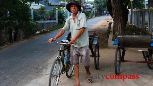 Chau Doc style cyclo.