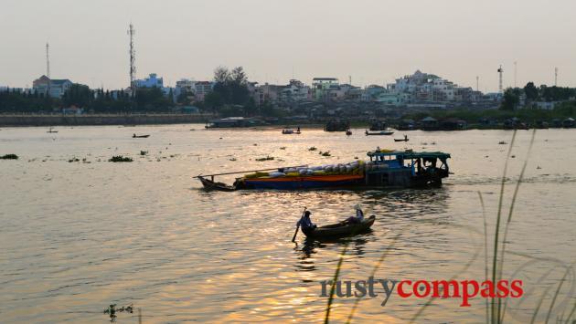 Across the Mekong to Chau Doc from Chau Giang.