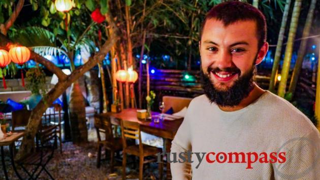 Marius - co-owner - Chez Cesar Cua Dai Beach, Hoi An