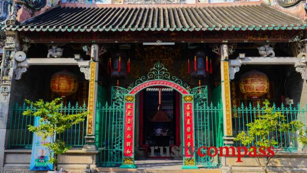 Thien Hau Pagoda, Cholon