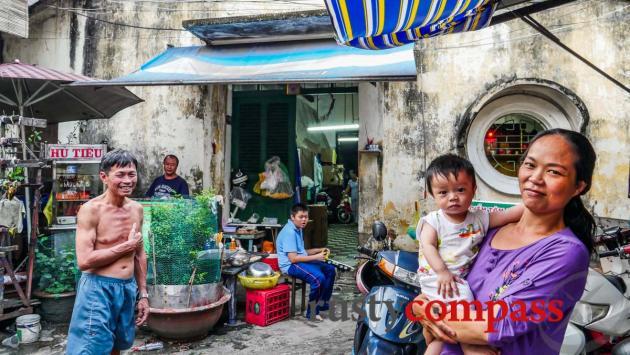Down an alley - Cholon