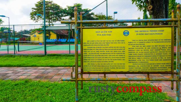 A heritage tennis court?