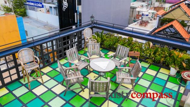 Rooftop in the suburbs - Common Room Project, Saigon