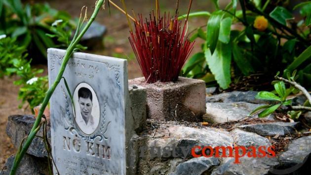 Hang Duong Cemetery, Con Son Island