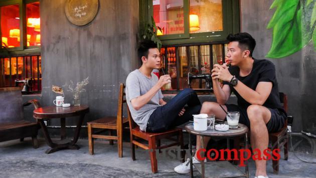 Cong Caphe, Trang Tien, Hanoi